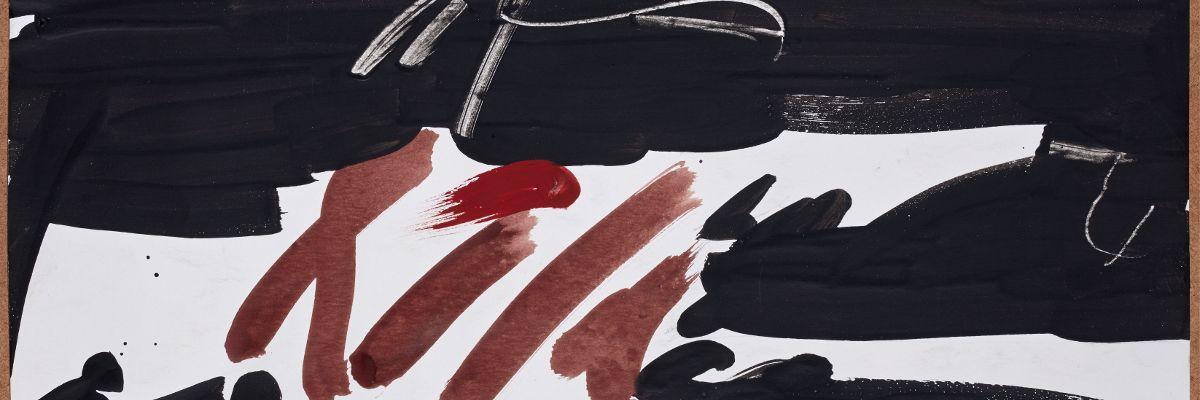 El grito silencioso. Millares sobre papel. Centro Botín