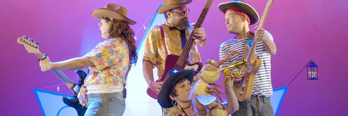 """Domingos en Familia. La chica charcos & The katiuscas band presenta """"Mi isla"""""""