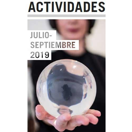 Folleto de actividades de octubre a diciembre de 2019