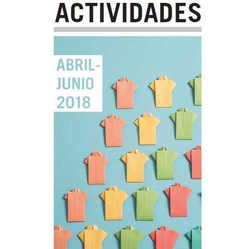 Folleto exposiciones de abril a junio 2018