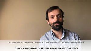 #DirectoCB. Pensamiento creativo, con Carlos Luna