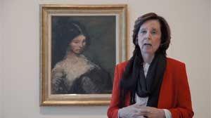 Exposición Retratos, con comentarios de María José Salazar