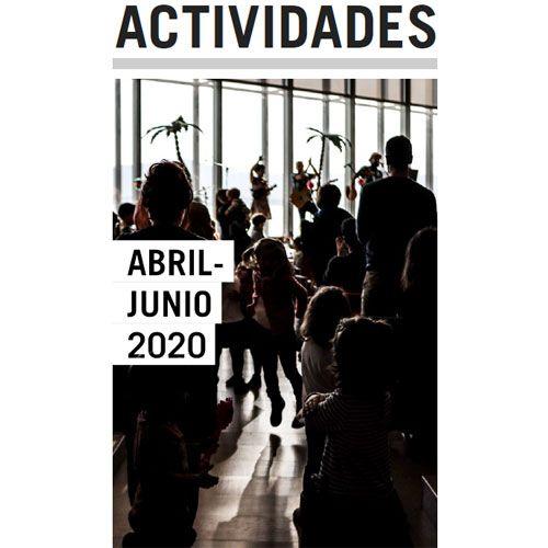 Folleto de actividades de abril a junio de 2020