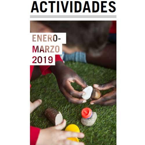 folleto de actividades de enero a marzo de 2019