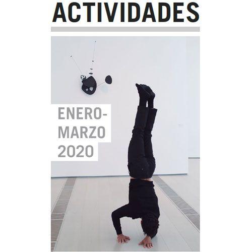 Folleto actividades enero a marzo 2020