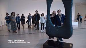 """VISITA EXPERIENCIA """"JOAN MIRÓ: ESCULTURAS 1928-1982"""". ¿A QUÉ SUENA LA MESA DE MIRÓ?"""