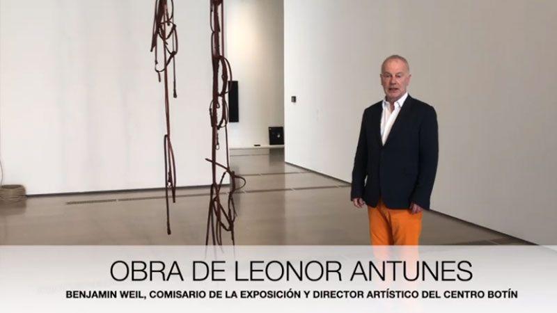 Benjamin Weil Sobre la obra de Leonor Antunes