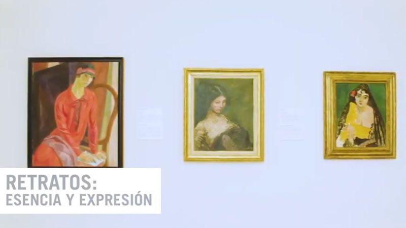 "exposición ""Retratos: Esencia y Expresión"""